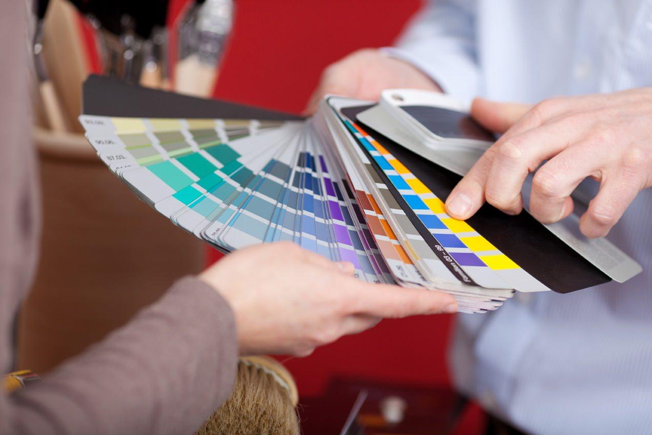 Come scegliere i colori?  Ecco 5 schemi guida...