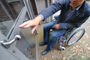 Ascensore per disabili in edificio storico