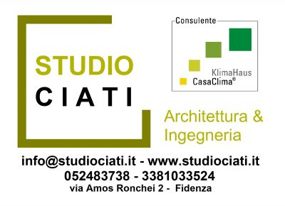STUDIO ASSOCIATO CIATI ARCHITETTO ROBERTO E ING. FRANCO CIATI