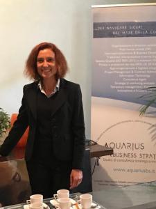 Raffaella Trigona, Fabrizio Pessina, Deborah Maggio - Aquarius Business Strategies team
