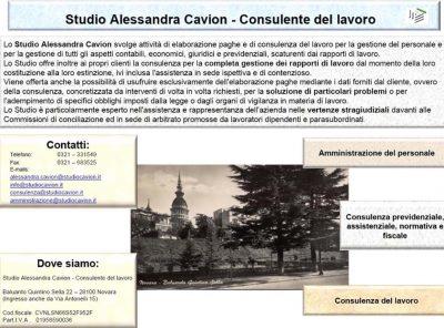 CdL ALESSANDRA CAVION