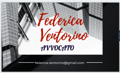 AVV. FEDERICA VENTORINO