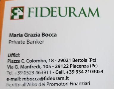 MARIA GRAZIA BOCCA - Consulente Finanziario