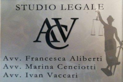 STUDIO LEGALE ACV