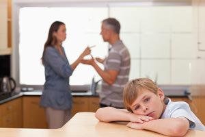 Separazione dei coniugi, affidamento dei figli