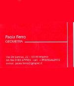 Geom. Ferro Paola